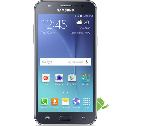 currys mobile phones buy samsung galaxy j5 8 gb black free delivery currys