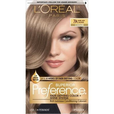 l oreal hair color 1b blue black cooler excellence creme richesse level3 ebay l oreal 174 superior preference fade defying color shine system 7a ash 1