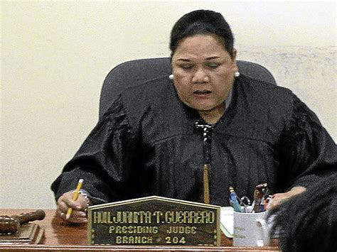 Lima Court Records Judge Rejects Request To Consolidate 3 Cases Vs De Lima