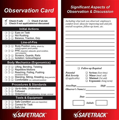 safety card templates 23 images of safety card template lastplant