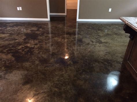 photos of acid stained concrete floors thefloors co