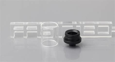 Glass Dip Size 510 16 88 large size glass abs hybrid 510 drip tip 9 pack 9 pack 34 3mm ships one of each