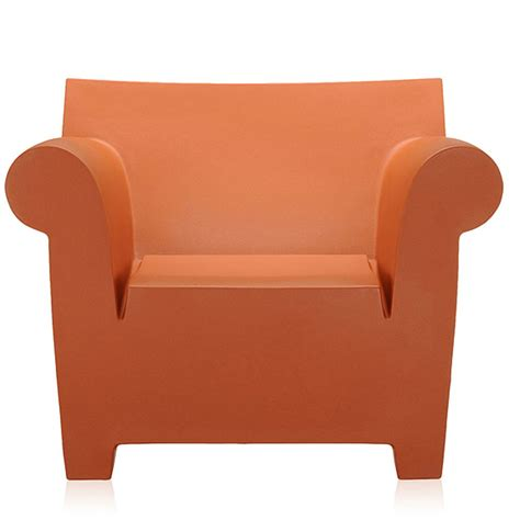 bubble club armchair kartell philippe starck bubble club armchair ochre
