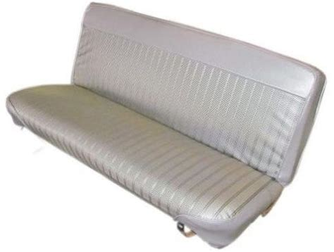 bronco bench seat front bench seat cover 1966 73 parchment broncograveyard com