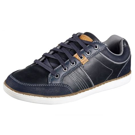 lanson rometo navy casual shoe