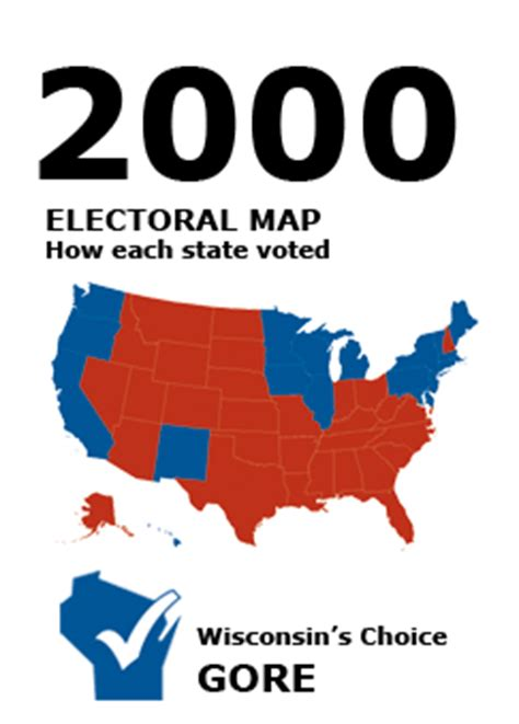2000 election wi results | presidential elections