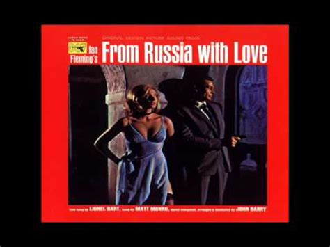 james bond from russia with love james bond from russia with love soundtrack full album