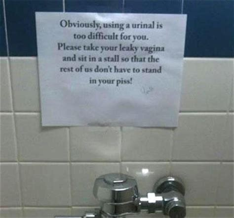 the funniest bathroom notes youll see all day 21 pics