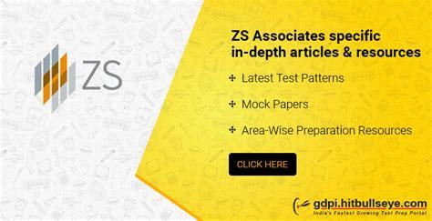 Zs Associates Mba Salary by Study Zs Associates