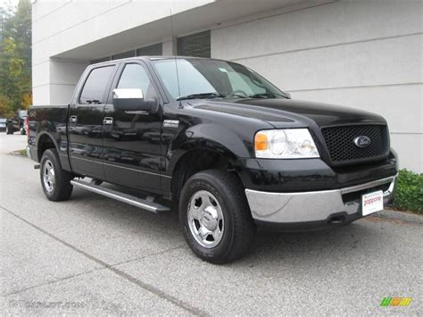 Ford F150 2006 by 2006 Black Ford F150 Xlt Supercrew 4x4 19494215