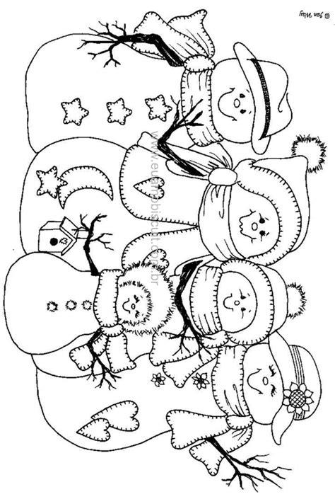 coloring page snowman family imprimir dibujos para colorear de navidad mu 241 eco de nieve