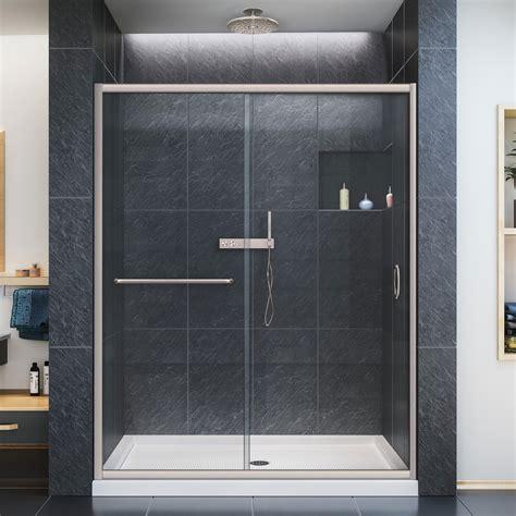 Dreamline Infinity Z 56 To 60 Quot Frameless Sliding Shower Dreamline Infinity Shower Door