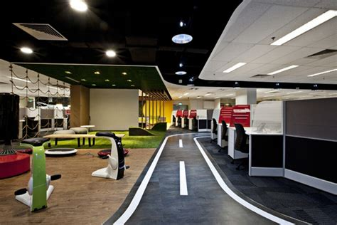 design center singapore breakout areas singtel call centre by sca design