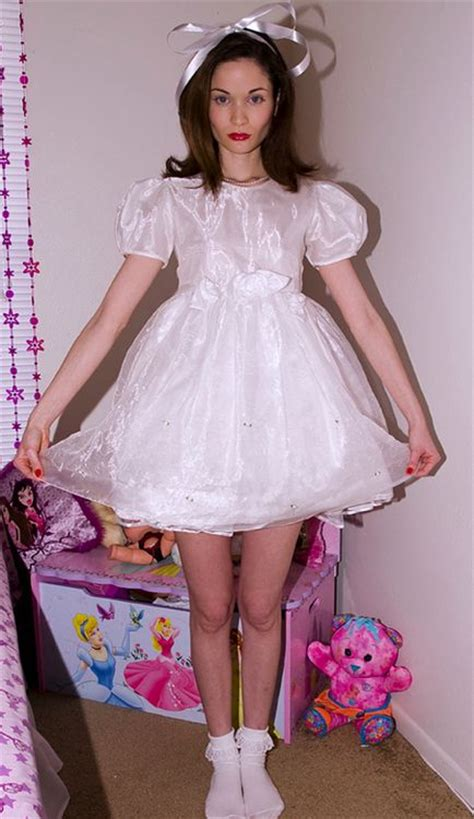 Sissy Frilly Party Dress | 108 best images about kaytee s desires on pinterest