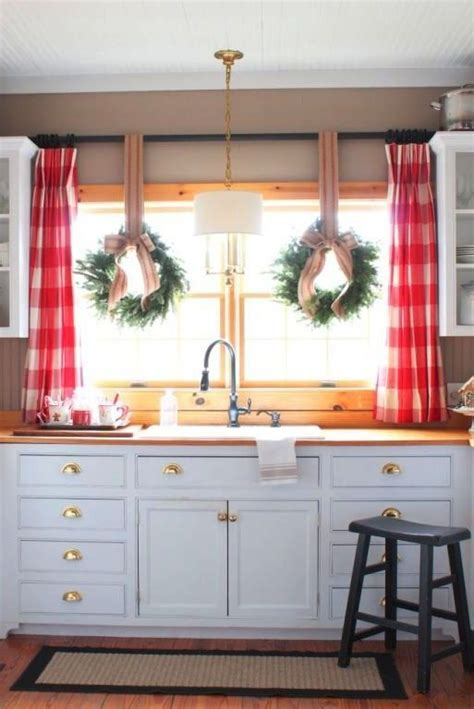 kitchen window curtain panels 3 kitchen window treatment types and 23 ideas shelterness