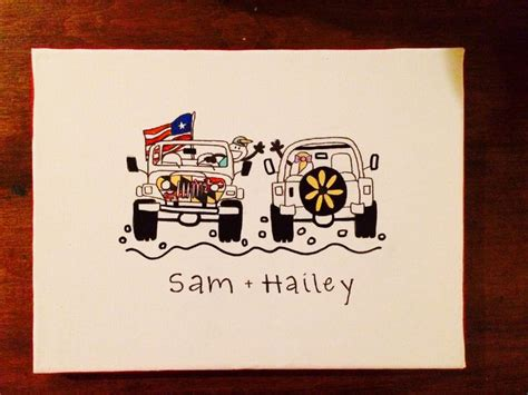 jeep painting canvas 17 best ideas about sorority canvas paintings on