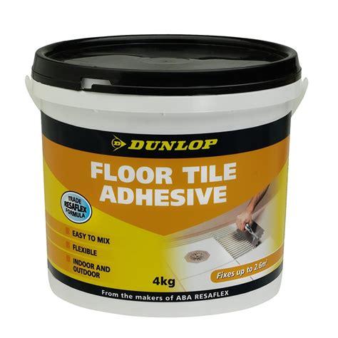 Floor Adhesive by Dunlop 4kg Floor Tile Adhesive Bunnings Warehouse