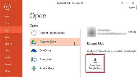 tutorial powerpoint google drive integrate google drive with office
