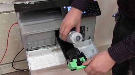 Toner Gestetner Mp 2501 replacing toner on a ricoh mp 301 mp 2001 mp