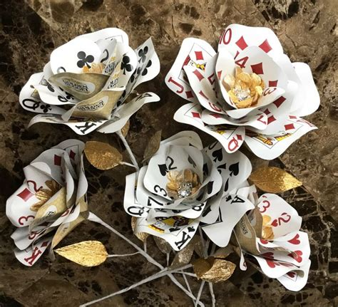 25  best ideas about Playing card crafts on Pinterest