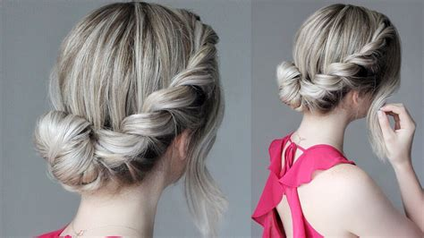 hairsyls formarathons how to easy updo french rope braid youtube