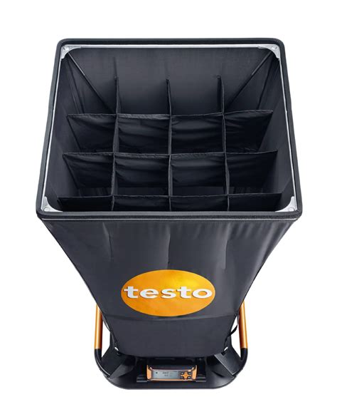 testo only time air capture air flow capture testo 420
