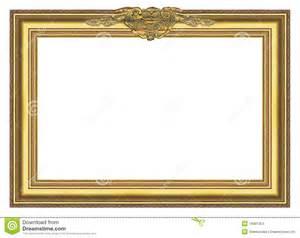 Large Old Gold Frame 004 Stock Images   Image: 19981054