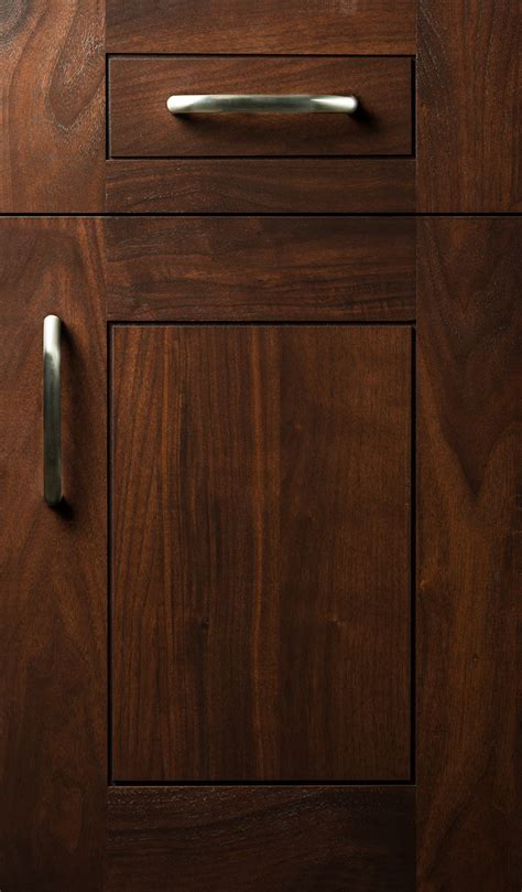 Walnut Cabinet Doors Transition 3 Quot Plain Fancy Cabinetry