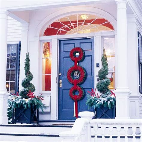 Three Decorations by 20 Creative Front Door Decorations