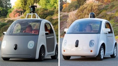 design google car first complete prototype of google s self driving car l