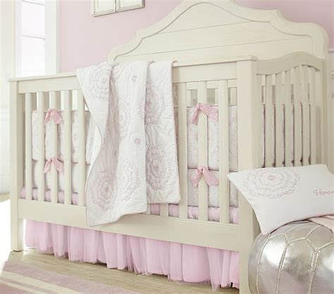 pottery barn crib bedding veronica nursery bedding set pottery barn kids