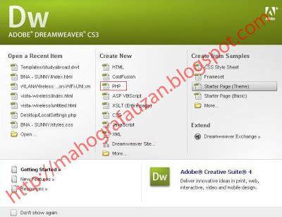 cara membuat web html dengan adobe dreamweaver cara membuat website dengan dreamweaver cs3 mahogra fauzan