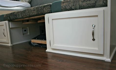 Starcraft Cabinets by Pop Up Cer Remodel Doors For The Dinette Storage The