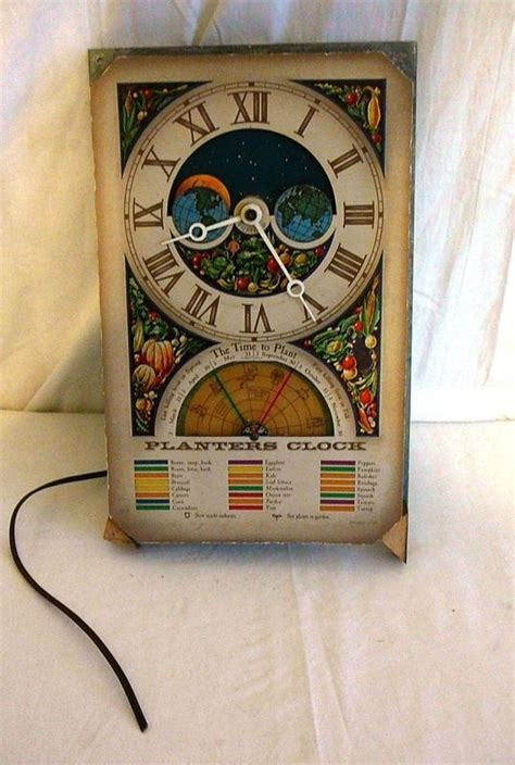 Planters Clock by Burpee Seed Planters Clock Kickstarter Postcard For