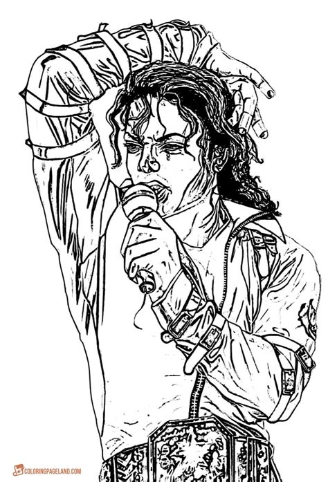 michael jackson coloring pages michael jackson coloring pages free printable images