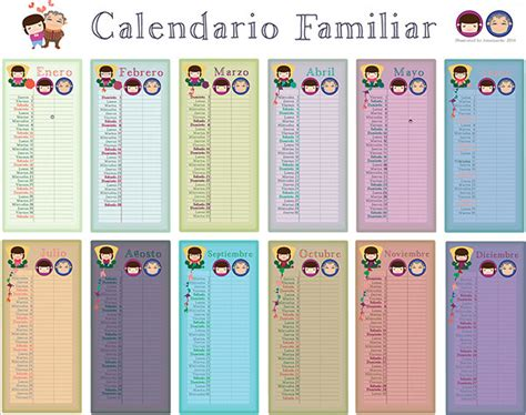 family calendar template family calendar template 15 free psd eps ai format