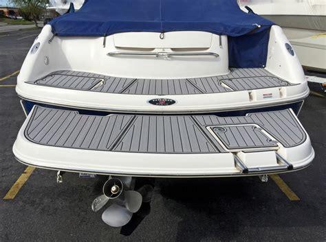 boat with no swim platform chaparral 246 faux teak seadek seadek marine products