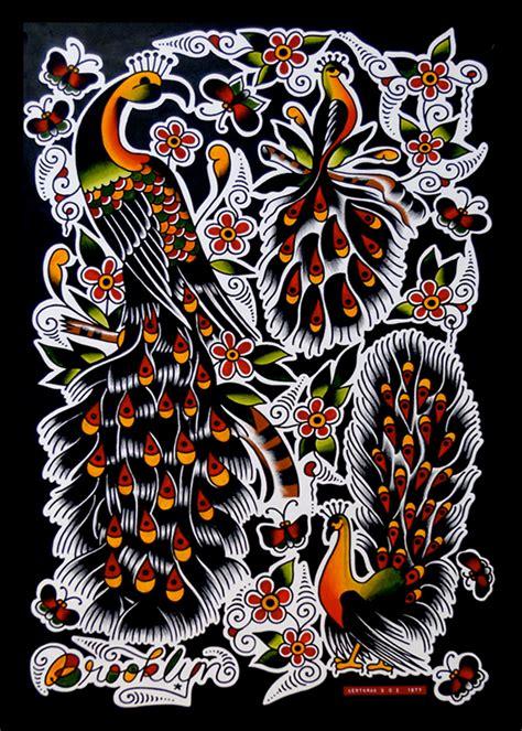 bert krak flash traditional tattoo flash pinterest