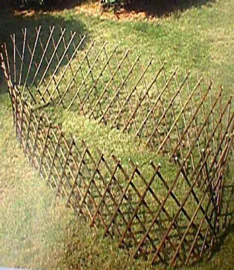 Circular Trellis Panels Circular Willow Trellis
