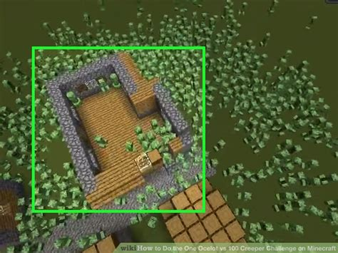 challenges to do on minecraft how to do the one ocelot vs 100 creeper challenge on minecraft
