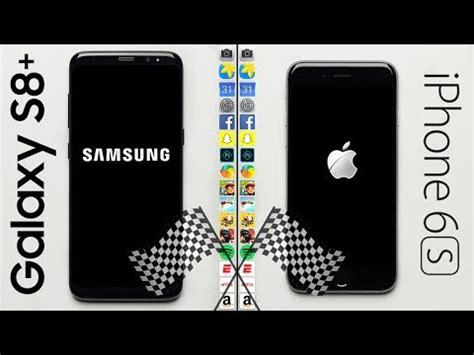 galaxy    iphone   speed test youtube