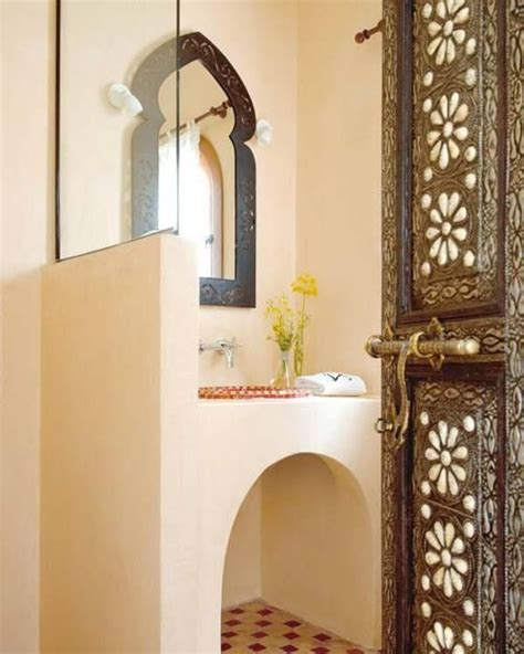 moroccan bathroom vanity so maroccan style bath pinterest the doors vanities