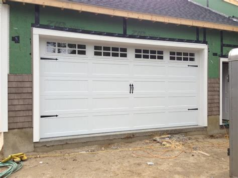 Steel Carriage House Garage Doors Modern Garage And Steel Overhead Doors