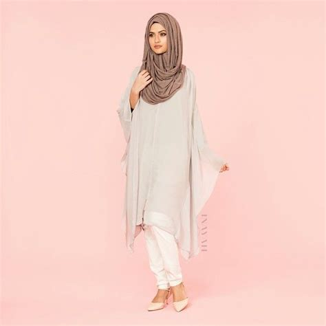pin by shaimaa ibrahim on modest hijab pinterest inayah grey batwing midi dress http bit ly 1fmrciz