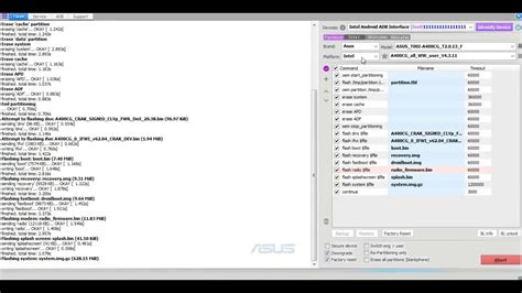 tutorial flash asus z00ud flashing debrick asus zenfone 4 bootloop stuck logo intel