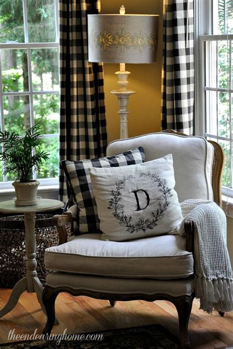 Love The Idea Of Plaid Curtains For My Living Room I Just Plaid Curtains For Living Room