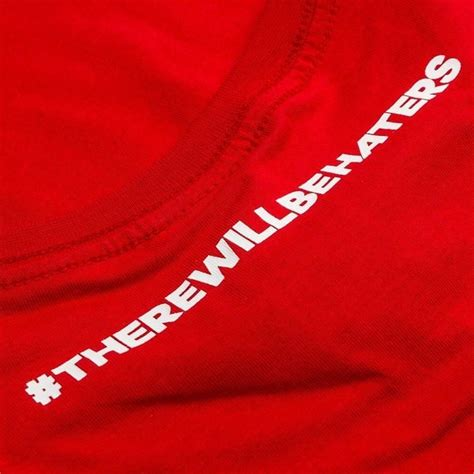 T Shirt Kaos Adidas There Will Be Haters 1003 Dear Aysha adidas t shirt there will be haters scarlet www