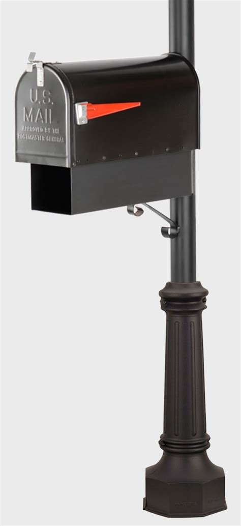 mailbox post with light mailbox and newspaper holder posts outdoor gas street