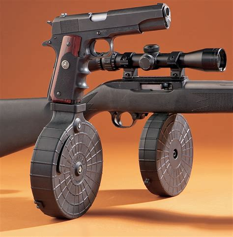 ar 15 fully automatic 22 caliber conversion 40rd drum say what gun and the friendliest