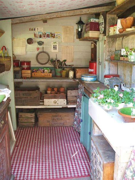 Garden Shed Interiors by Potting Shed Garden Thyme Gardens Garden